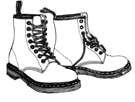 how to draw a military boat drawn boots combat boot pencil and in color drawn boots