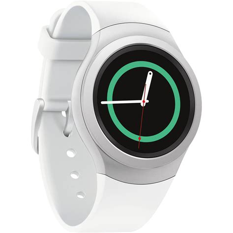 samsung gear s2 smartwatch white sm r7200zwaxar b h photo