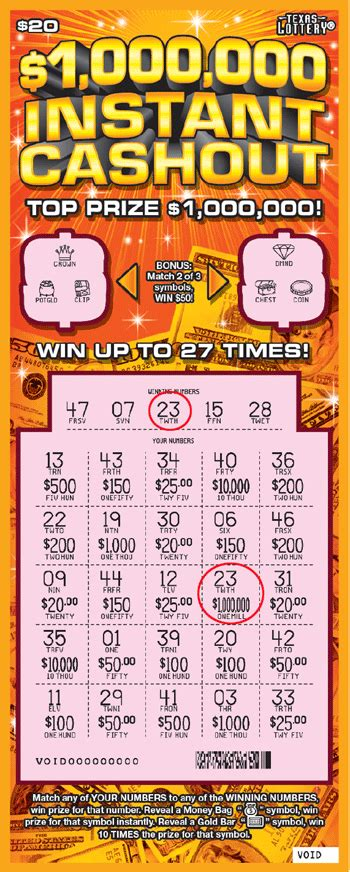 Free Instant Win Scratch Tickets - scratch tickets details