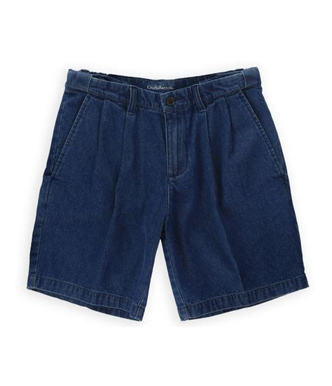 Croft Barrow Mens Comfort Waist Casual Denim Shorts Ebay