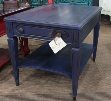 navy blue end table 17 best images about mersman tables on eames
