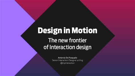 A New Design Frontier The Bottom Of Your Pans by Design In Motion The New Frontier Of Interaction Design