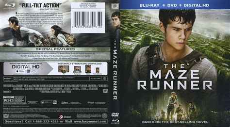 Download Film Maze Runner Blue Ray | the maze runner blu ray dvd covers and labels