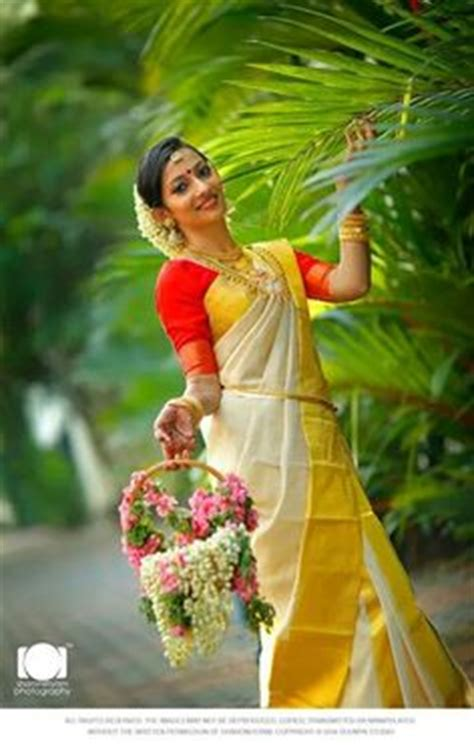 Best Model Wedding Ring Kerala Tradition by Gorgeous Kanchipuram Saree And Temple Jewellery The