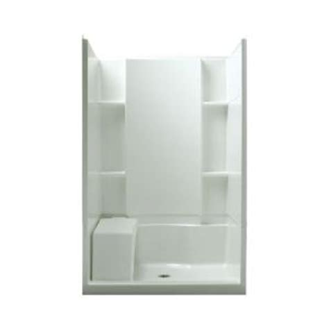 Stand Up Shower Home Depot by Sterling Accord Seated 36 In X 48 In X 74 1 2 In Shower