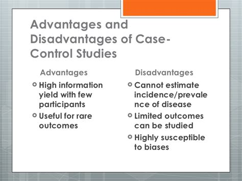 design management advantages case study research advantages and disadvantages