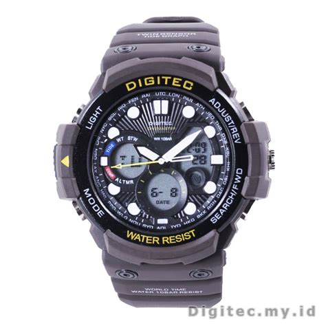 Jam Tangan Digitec 2092t Brown by Digitec Dg 2092t Brown Divemaster Jam Tangan Sport Anti