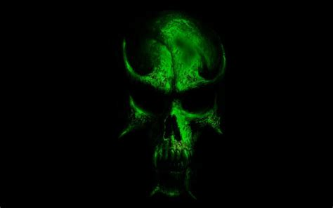 wallpaper green skull green skull wallpaper hd www imgkid com the image kid