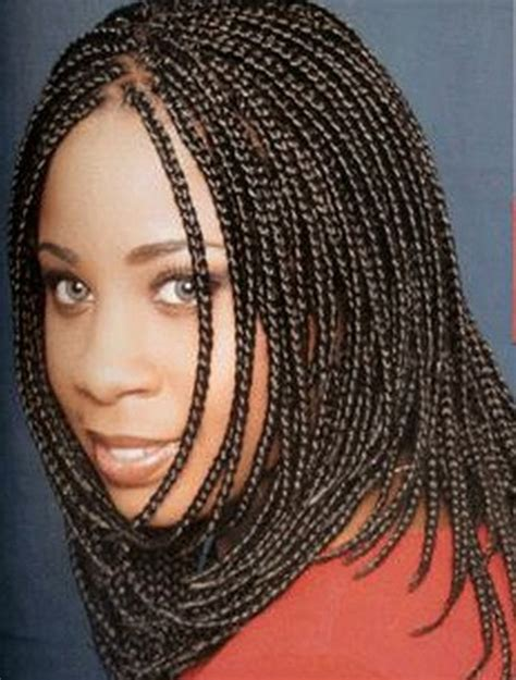 african american braided style gallery micro braids hairstyles for black women