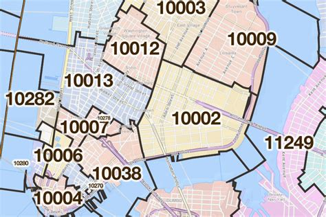 zip code map new york city new york new york printable u s zip code boundary maps