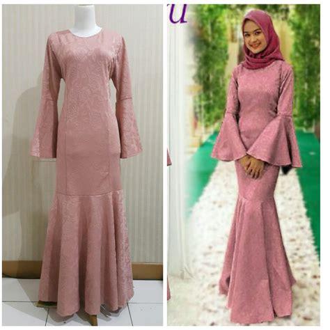 Jual Beli Baju Muslim Murah/Gamis Duyung Terbaru/Gamis