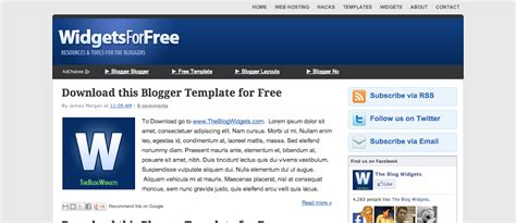 great templates for blogger best blog widgets for free web design strategy and
