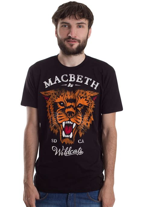 T Shirt Macbethcom W7qe macbeth wildcats t shirt impericon uk