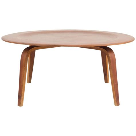 Eames Coffee Tables Eames Herman Miller Ctw Coffee Table In Walnut Products 1940s For Sale At 1stdibs