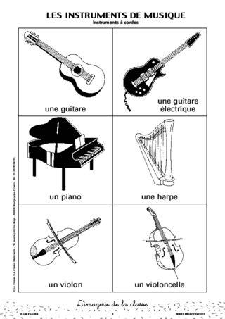 les instruments de musique de la famille des cuivres l imagerie les instruments de musique