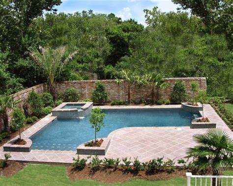 landscaping around pool inground pool landscaping ideas bistrodre porch and