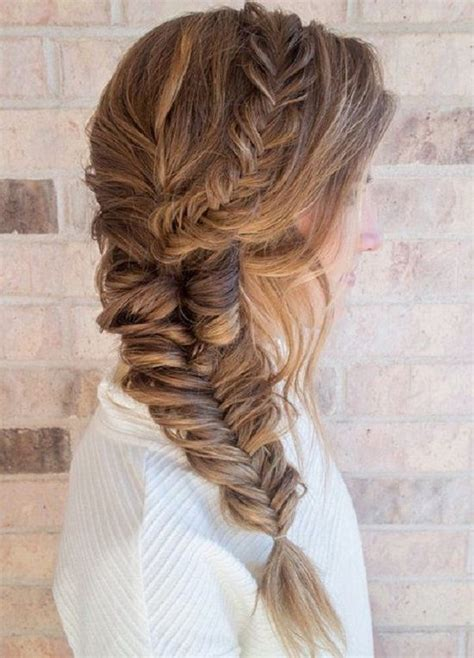 Wedding Hairstyles With A Braid On The Side by Fishtail Braid Hairstyles Choose Your Fishbone Braid Style