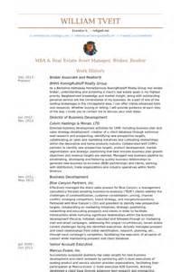realtor resume exles broker associate resume sles visualcv resume sles