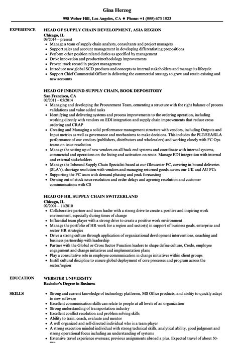 resume details exle how to get a in supply chain best chain 2018