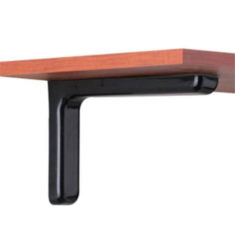 Large Shelf Bracket by Large Black Designer Shelf Bracket At Menards 174