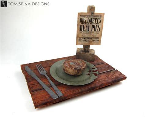 Primitive Bathroom Ideas Sweeney Todd Meat Pie Prop Halloween Props Pinterest