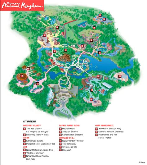 map of animal kingdom walt disney world universal studios florida besuch auf