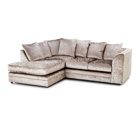 crushed velvet sofa mink crushed velvet furniture sofas beds chairs cushions