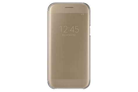 Samsung Clear Cover Galaxy A5 2017 Transparant Original samsung ef za520c galaxy a5 2017 gy 225 ri clear view cover