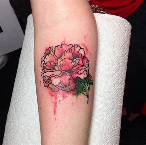 watercolor peony tattoo peony tattoos designs ideas and meaning tattoos for you
