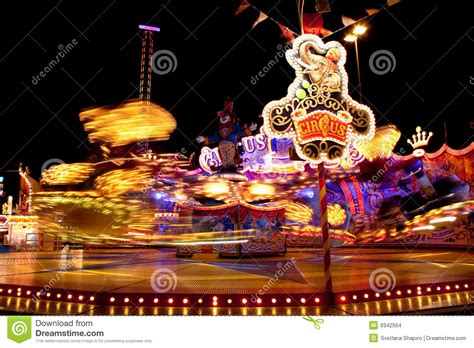 carnival lights  night stock images image