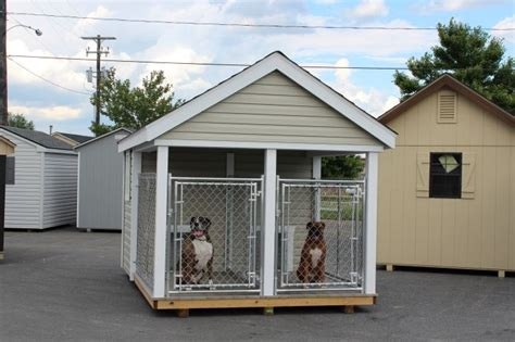 shed dog house dog run outdoor kennel k9 house amish pa dutch custom handmade shed dog breeds picture