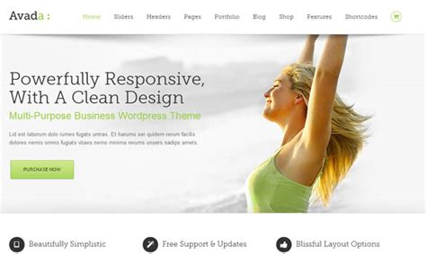 avada theme requirements 80 best responsive wordpress themes wp template