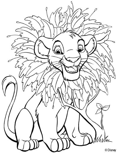 lion king coloring pages free online coloring page re leone