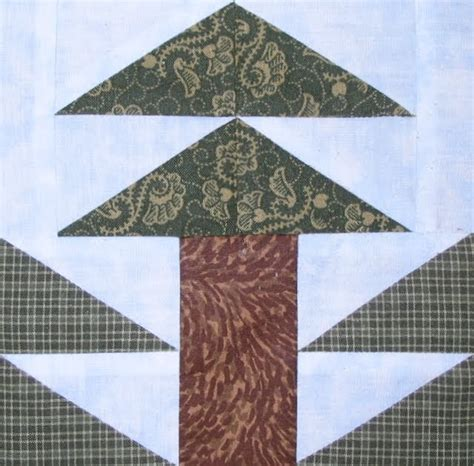 quilt pattern pine tree starwood quilter tall pine tree quilt block