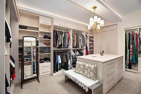 bedroom into walk in closet kristina kovalenko s liberty lofts pad business insider