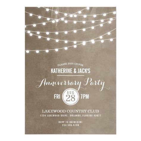 backyard wedding invitations best 25 anniversary party invitations ideas on pinterest