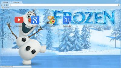 chrome themes winter frozen chrome themes themebeta