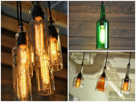 lights made from wine bottles diy bottle l make a table l with recycled bottles