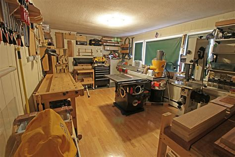 small woodworking shop heartwood