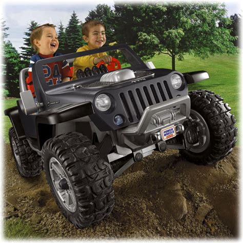 black jeep power wheels power wheels 174 jeep 174 hurricane with traction