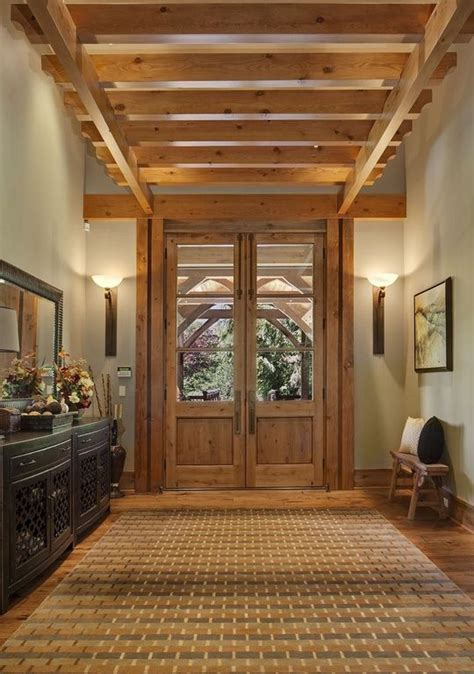 rustic entryway rustic entry with french doors and beams rustic