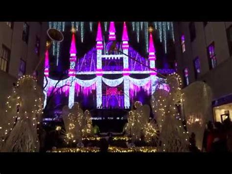 Saks Light Show by 2016 Saks Fifth Avenue Light Show And Fireworks