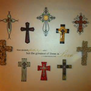 Decorative Crosses For The Home Cross Wall Decor With Scripture Crosses