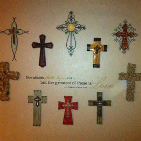 decorative crosses for the home decorative crosses for the home set of 3 decorative crosses wall cross by shineboxprimitives