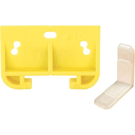 Drawer Track Guide Kit by Prime Line Yellow Drawer Track Guide Kit R 7154 The Home
