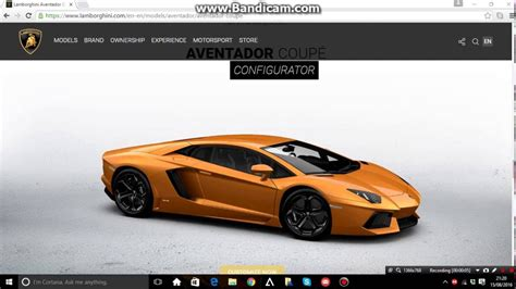 Lamborghini Konfigurator by Testing Out The New Lamborghini Configurator Aventador
