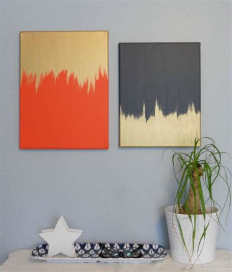 diy paintings for home decor 50 creative ways to diy your own wall art brit co