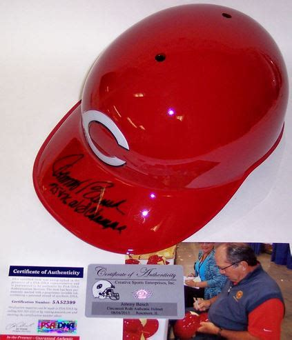 johnny bench autograph johnny bench card and memorabilia guide