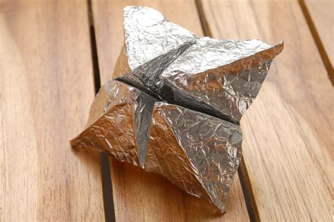 Tin Foil Origami - how to make aluminum foil origami 9 steps with pictures