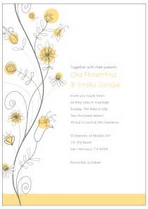 Wedding Invitation Mail Templates by Email Wedding Invitations Templates